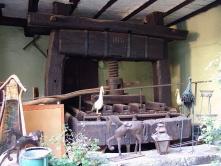 un vieux pressoir à Riquewihr