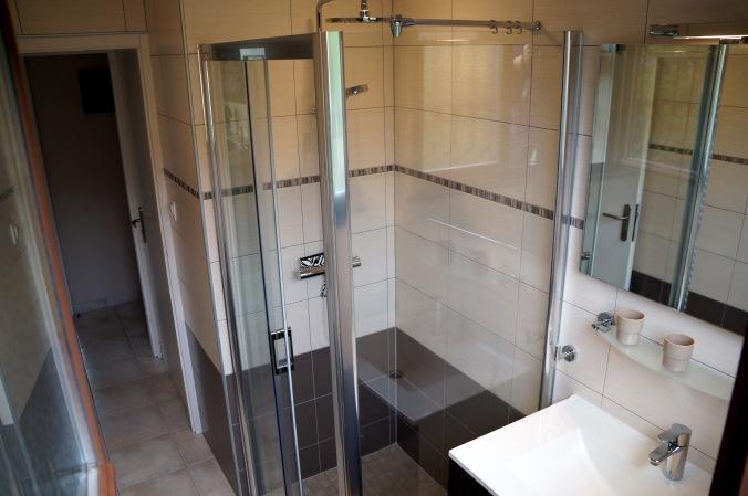 Salle de bain du Gîte le Mandlé